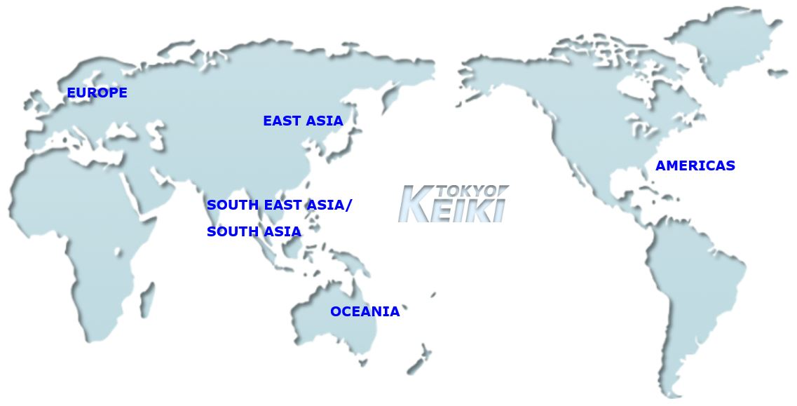 Where Is Tokyo Located On The World Map.World Wide Sales Service Location